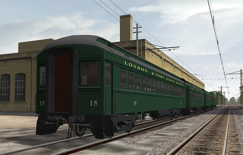 London And Port Stanley Railway - Passenger Coaches